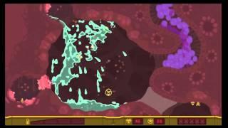 """PixelJunk Shooter 2  """"Project Peristalsis"""" All Survivors & Treasure"""