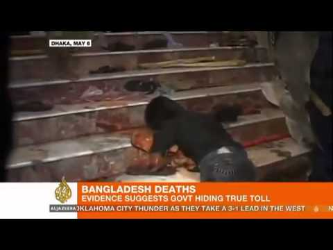 Genocide In Bangladesh 5th & 6th May 2013 - Reported By Al-jazeera
