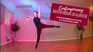 Slow Intermediate Contemporary Class - 50 min | Move with Steph #14