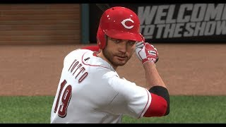 MLB The Show 18 Gameplay - Nationals vs Reds