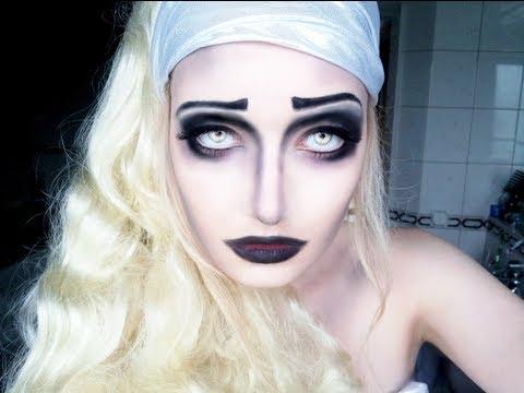 Halloween Makeup Tutorial - Dark Fairy - Inspired by Corpse Bride ...
