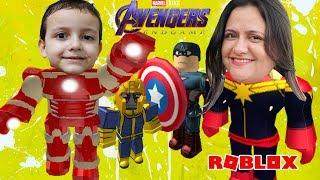 We turn Marvel Heroes Avengers Ultimatum End Game on Roblox! ToysBR method
