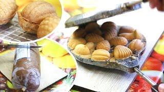 видеорецепт: печенье орешки и грибочки | печиво грибочки рецепт