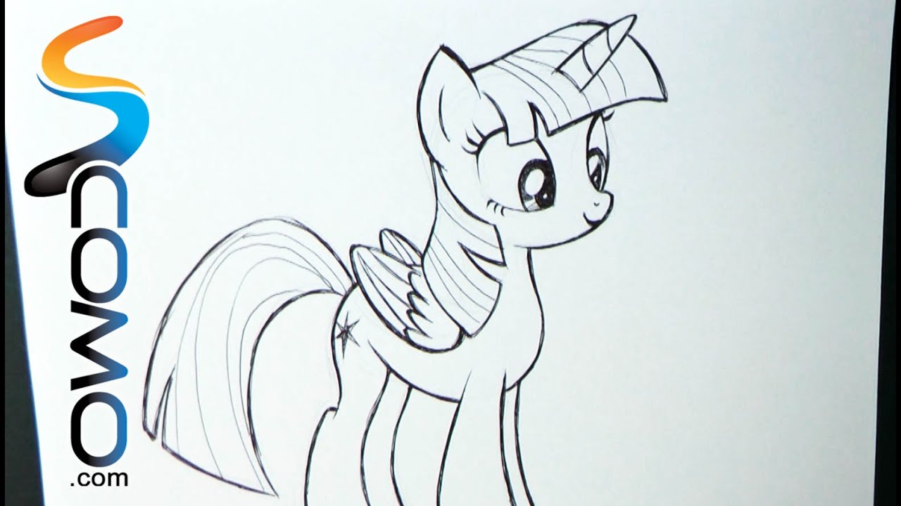 Dibujar a Twilight Sparkle - YouTube