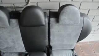видео Чехлы на сидения MITSUBISHI MIRAGE