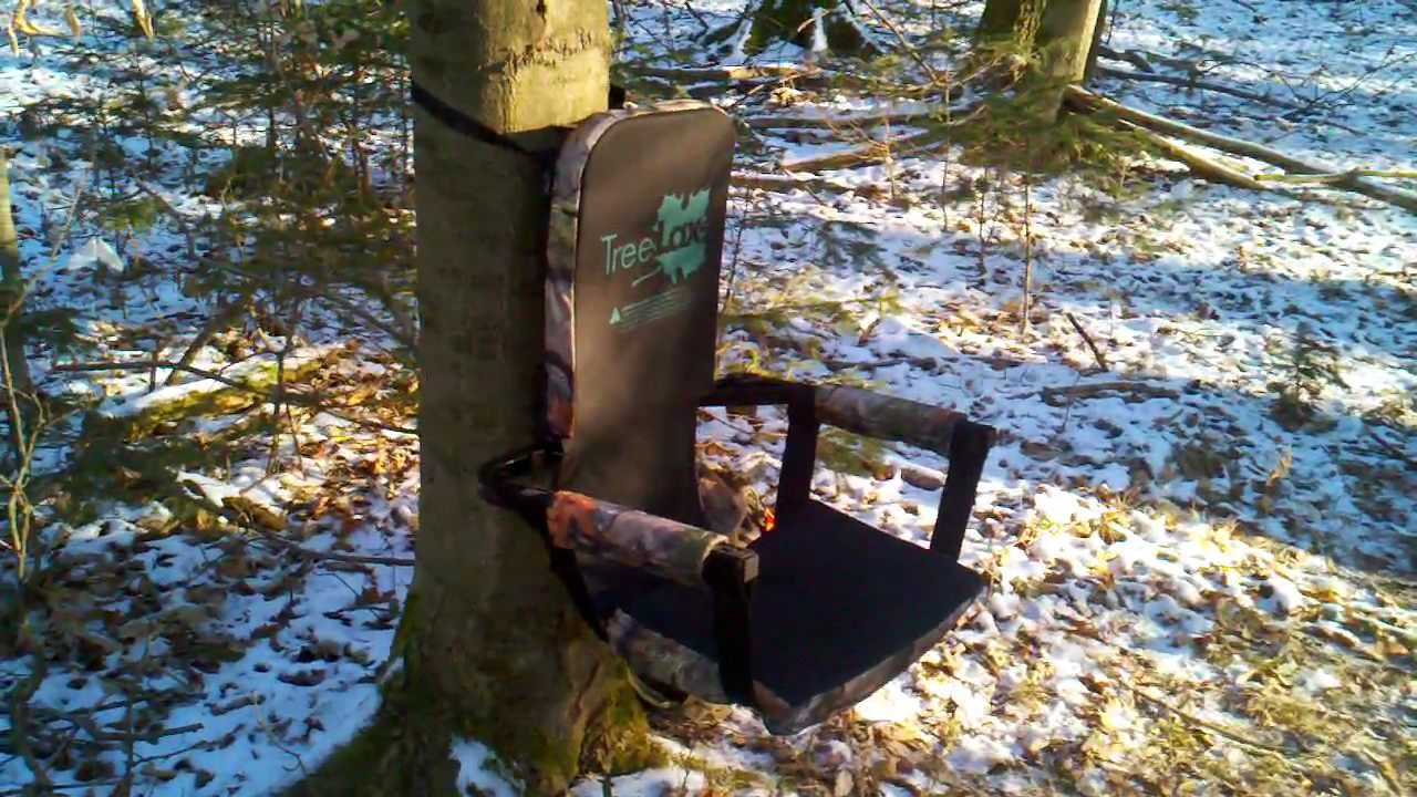 hunting seats and chairs adult size bean bag chair treelax review youtube