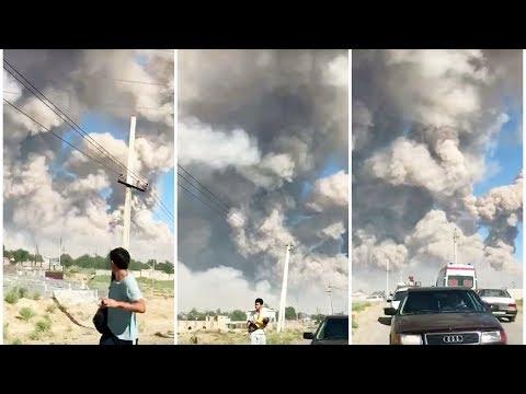 Казахстан. Арысь. Взрывы | АЗИЯ
