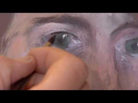 Canson Présente Portrait à Lacrylique Par D Priollaud Youtube