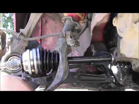 How to Change a CV-Axle in 10 minutes (B-Series Honda/Acura)