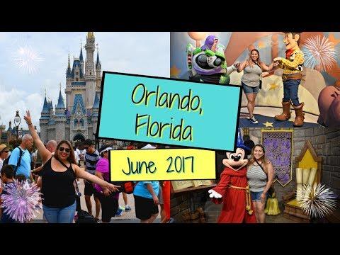 My Vacation to Orlando, Florida!! June 2017!