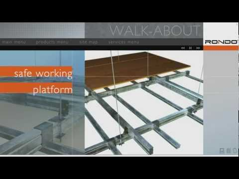 Rondo Walk About Trafficable Ceiling System