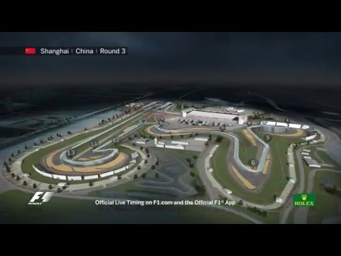 F1 Circuit Guide   Chinese Grand Prix 2016