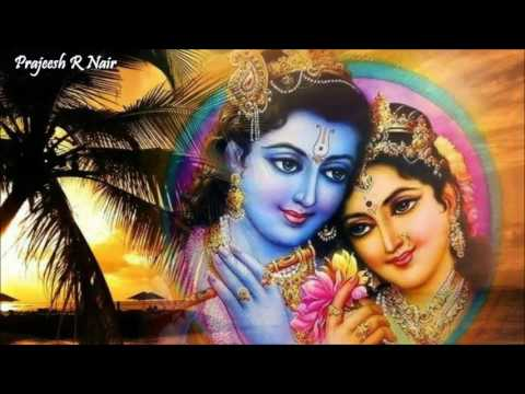 Enthe Nee Enne Marannu Kanna...! Sreekrishna Devotional Song. (Prajeesh)