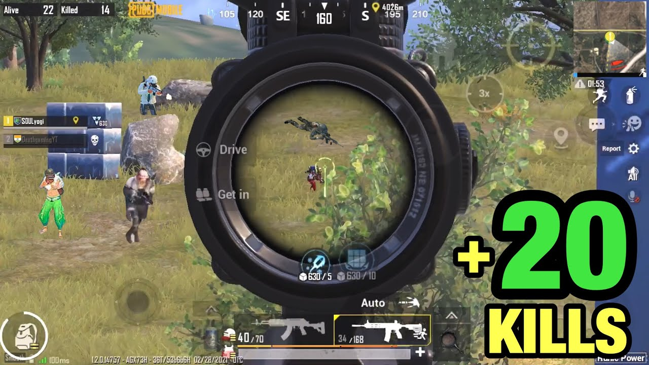 They Tried To Rush Me ! iPhone 8 Plus PUBG Mobile Death Gaming ! 22 Solo Kills