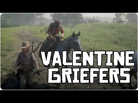 Termination Of The Valentine Griefers + Funny Bonus Clip / RDR2 Online Free Roam PVP