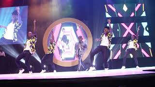 Hipipo music awards (Trojans performing with Roberto from Zambia)