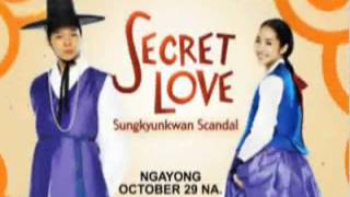 Video Secret Love: Sungkyunkwan Scandal. Ngayong October 29 na!. download MP3, 3GP, MP4, WEBM, AVI, FLV Januari 2018