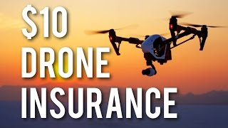 verifly drone insurance for 10 pay only when you need it