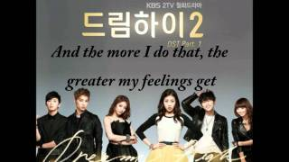 Park Jin Young (JYP) - Falling (Dream High 2 OST) with English Sub + Romanization Lyrics