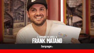 Frank Matano, fidanzato, tatuaggi, oedi, Paolo Brosio: la webstar risponde alle domande di Google