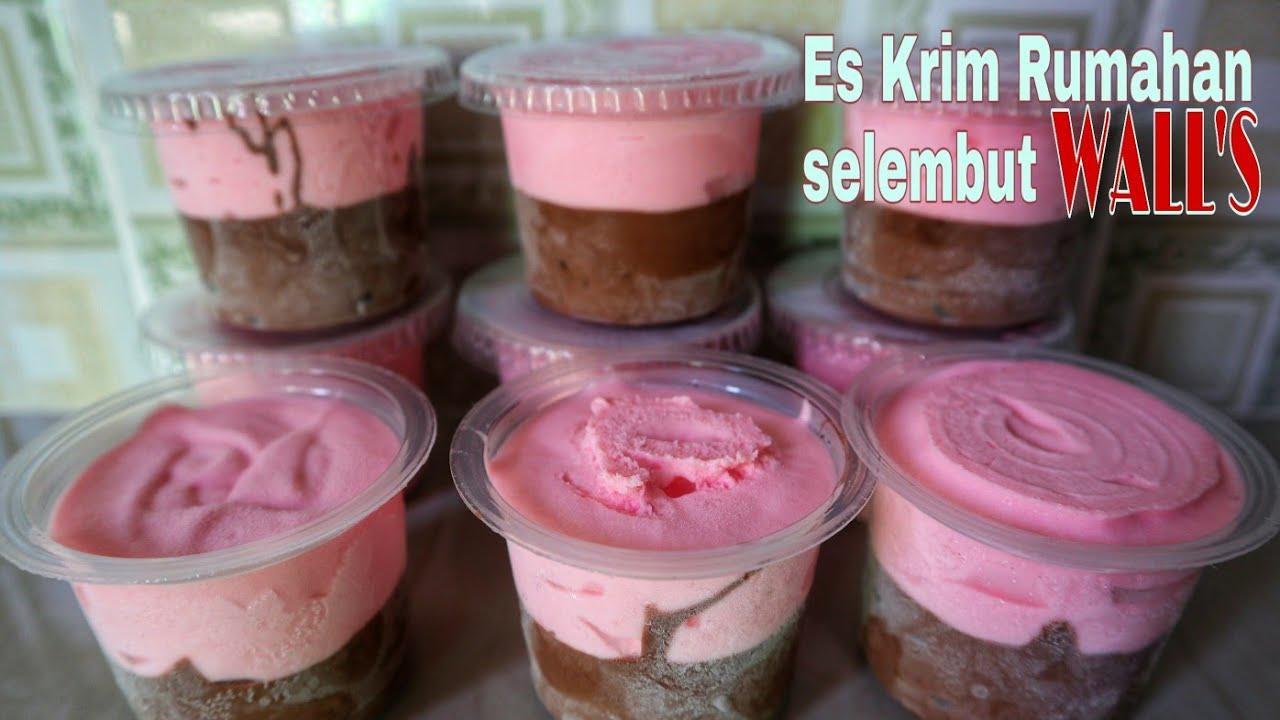 Resep Es Krim Cup Lembut Tanpa Mixer Untuk Jualan Laris