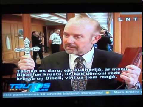 Rev. Bob Larson's TV Interview in Latvia