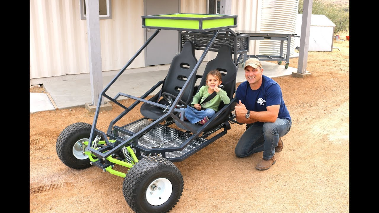 Off Road Go Kart - How to Build - YouTube