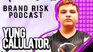 Yung Calculator, 14yr Old Fortnite Phenom Talks About Money | Brand Risk Podcast #2