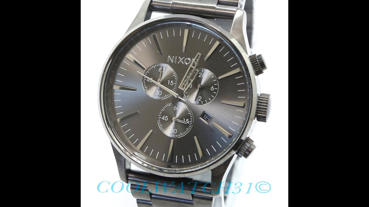 sentry how watch wear nixon to with shop women original leather where buy watches strap black