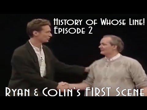 History Of Whose Line! Episode 2: Ryan & Colin's First Scene - WLIIA UK Series 3 Episode 12
