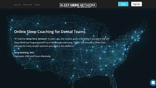 Sleep Hero Network Walkthrough - Online Dental CE and Education Platform