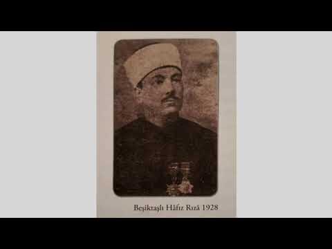 Beşiktaşlı Hâfız Rıza Bey - Ey çeşm-i âhû mehlika indir