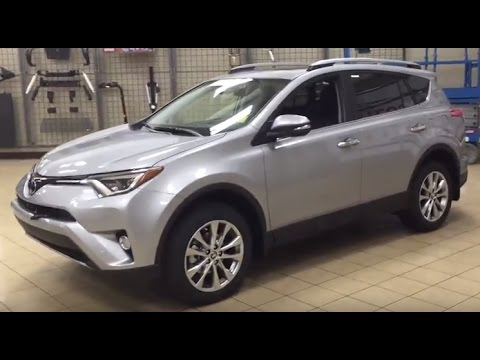 2017 Toyota Rav4 Limited Review