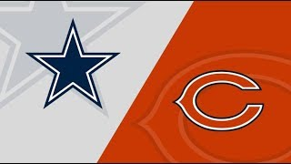 Dallas Cowboys vs Chicago Bears Play by Play & Reaction!