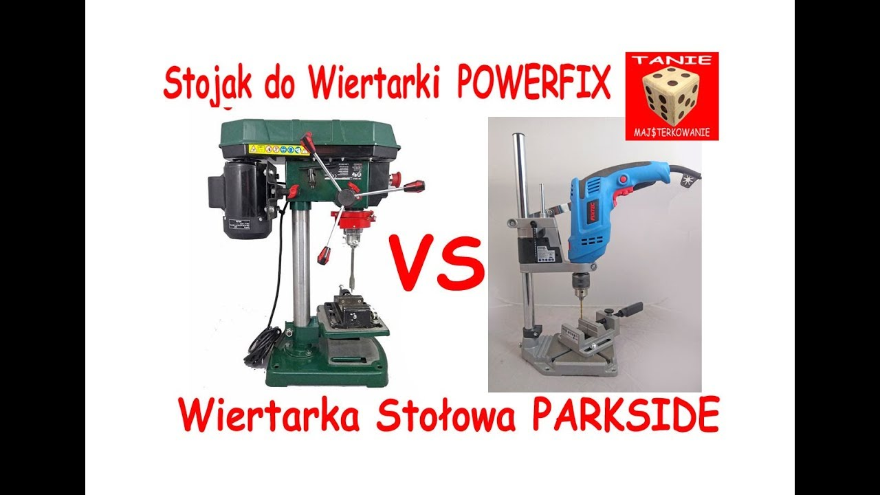 Stojak Do Wiertarki Powerfix Vs Wiertarka Stołowa Parkside Ptmb 500 D4 Test