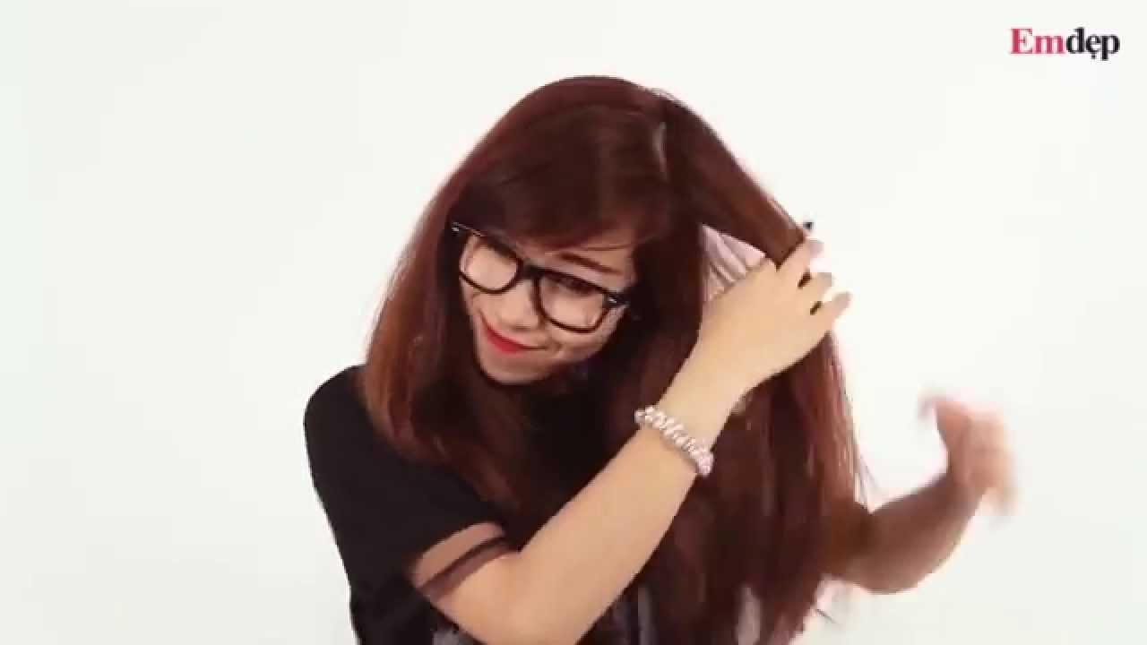 Tự làm 5 kiểu tóc Vừa đẹp Vừa nhanh khi bị muộn giờ