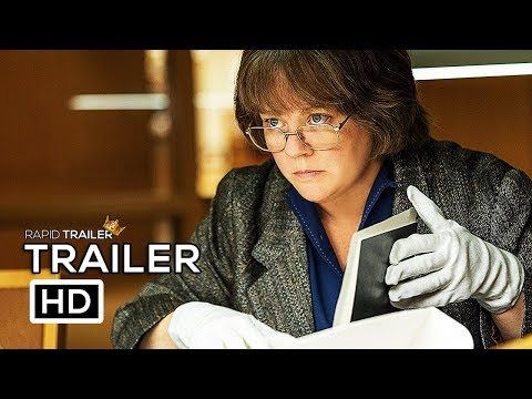 CAN YOU EVER FORGIVE ME?   2018 Melissa McCarthy Movie HD