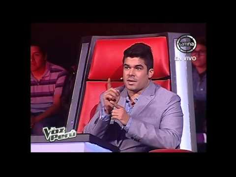Luis Baca Canta No Puedo Olvidarme - La Voz Perú - Conciertos En Vivo - Temporada 2