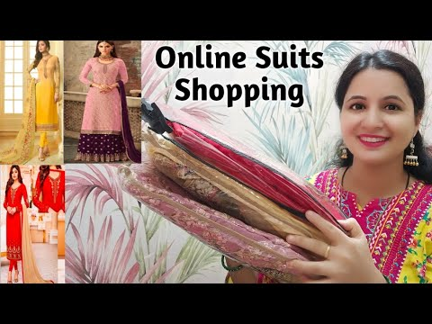 Online Suits Shopping Haul || Best Partywear Suits From Zatki.com || Neema's Corner