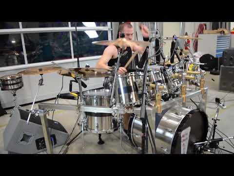 Sekoria - Vendetta Drum Playthrough on Stainless Steel Drum Kit