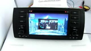 bmw e39 e53 x5 dvd player gps navigation system free igo maps
