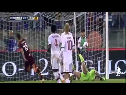AS Roma vs AC Milan 2 0 All Goals