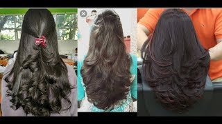 Latest Medium Length Layer Hair Cut Style For Girls 2019 Stylish Women Hair Style 2019 Youtube