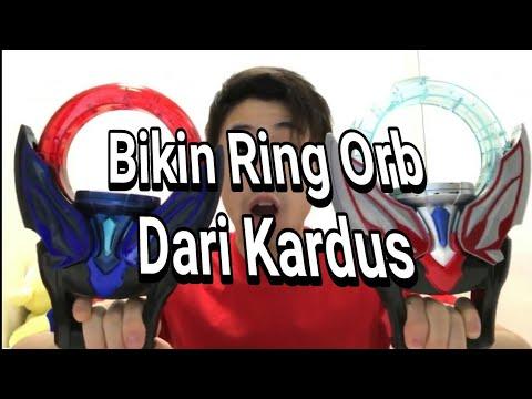 Membuat Ring / Changer Ultraman Orb + Cara berubahnya