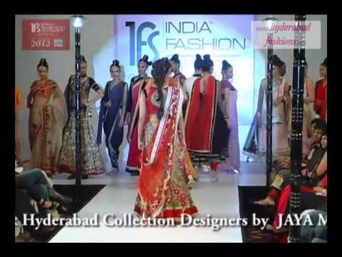 India Fashion Street Fashion Tour 2012, Fashion Designer Jaya Misra Wedding Collections