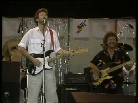 eric clapton phil collins white room live at live aid youtube