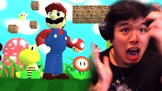 This Mario Game is NOT what it seems... (creepy)    Super Mario Dolor