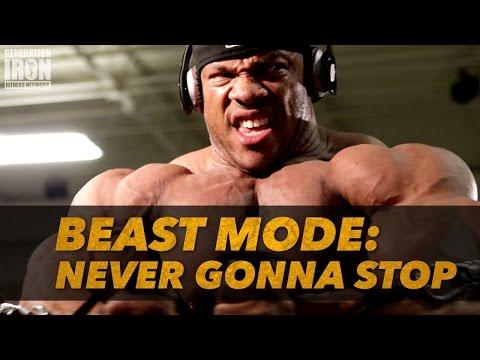 Bodybuilding Motivation - Never Gonna Stop   Generation Iron