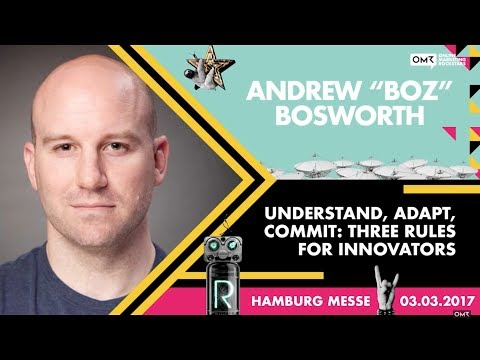 "Andrew ""Boz"" Bosworth, VP Ads Facebook - Online Marketing Rockstars Keynote 