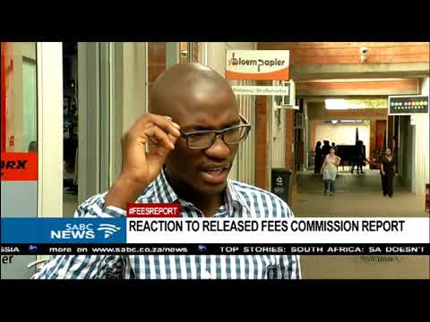 Fees Commission report disappointing: UFS SRC